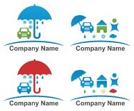 Firmenvektorlogo lizenzfreie abbildung