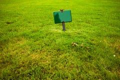 Firmi dentro l'erba Fotografie Stock