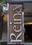Firmi per il night-club della reina a Costantinopoli alla notte Fotografia Stock
