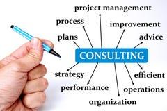 Firmy konsultować ilustracja wektor