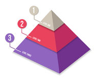 Firmy prezentaci informaci grafika Zdjęcia Stock