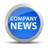 Firmy wiadomości round błękitny guzik ilustracja wektor