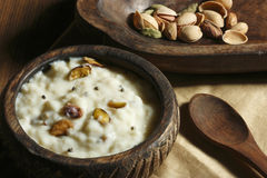 Firnee - a North Indian Dessert Stock Image