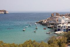 Firopotamos, Milos island Royalty Free Stock Image
