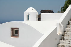 Firostefani hotel, Santorini Royalty Free Stock Photos