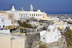 Firostefani, Santorini Royalty Free Stock Image