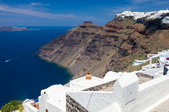 Firostefani Santorini Greece Royalty Free Stock Photography