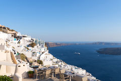 Firostefani, Santorini Stock Photo