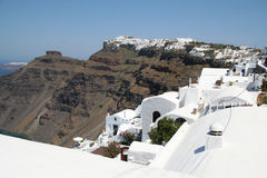 Firostefani, Santorini Royalty Free Stock Photo