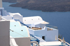 Firostefani, Santorini Royalty Free Stock Images