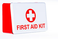 Firs aid kit box Stock Photo