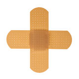 Firsr Aid Cross plaster. Firsr Aid plaster, isolated, with clipping path Royalty Free Stock Image