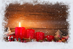 First advent Royalty Free Stock Image