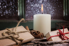 First Advent, Gifts Stock Photo
