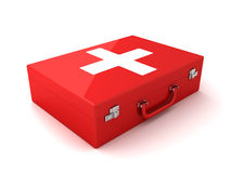 First aid. This is a 3D rendered picture Royalty Free Stock Images
