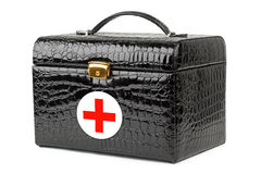 First aid bag Royalty Free Stock Images