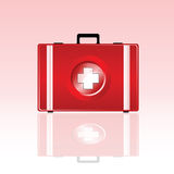 First aid bag vector illustration Royalty Free Stock Image