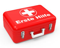 The first-aid box Royalty Free Stock Images