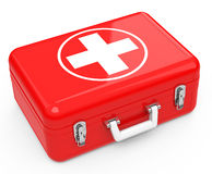 The first-aid box Royalty Free Stock Photos
