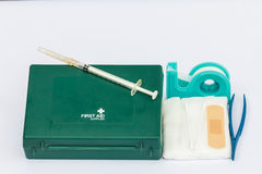 First AID box Stock Photography