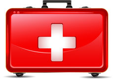 First aid box icon. Illustration of first aid box icon Stock Photo