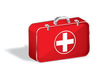 First aid box,vector. First aid box on a isolated background,vector Royalty Free Stock Photography