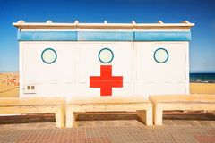First aid cabin Stock Photography