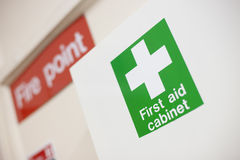 First aid cabinet Stock Photography