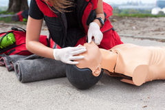 First aid Stock Photography