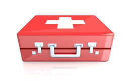 First aid case Stock Photos