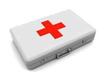 First aid case Royalty Free Stock Images