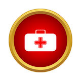 First aid case icon, simple style Royalty Free Stock Photos