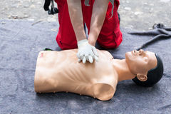 First aid. CPR. Royalty Free Stock Image
