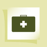 First aid  icon Stock Image