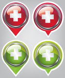 First aid icon Stock Photography
