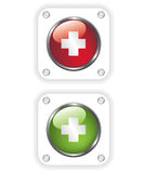 First aid icon illustration Royalty Free Stock Photo