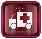 First aid icon red Stock Photos