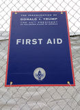 First Aid, The Inauguration of Donald Trump, The 45th President of the US, 58th Presidential Inauguration, Washington, DC, USA. January 21, 2017: It is the day Royalty Free Stock Image