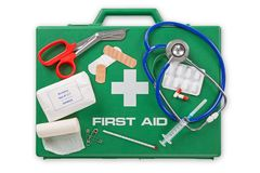 Free First Aid Kit Stock Photo - 100264680