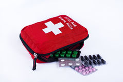 First aid kit Stock Image