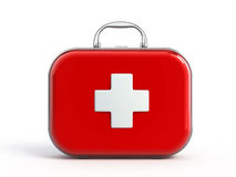 First aid kit. Isolated - 3d render Stock Photo