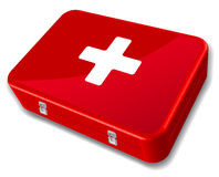 First aid kit Royalty Free Stock Image