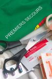First-Aid Kit Stock Photography