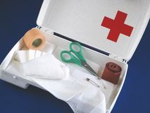 First-aid kit Royalty Free Stock Photography