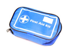 First aid kit. Isolated on whie background royalty free stock photography