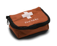 First Aid Kit Bag stock photography