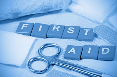 First Aid Kit. Royalty Free Stock Images