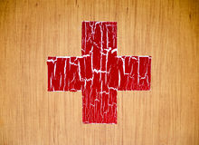 First aid kit box Stock Photography