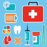 First aid kit box Royalty Free Stock Image