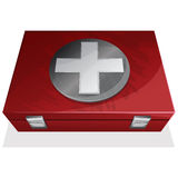 First aid kit box Royalty Free Stock Photo